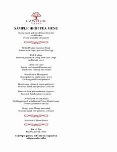 high tea menu template and design free download With afternoon tea menu template