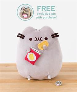 Potato Chip Pusheen Plush Toy – Hey Chickadee