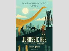 Fantastic posters illustrate the best time travel destinations