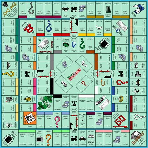 monopoly board ultimate monopoly by jonizaak on deviantart