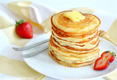 easy fluffy american pancakes del s cooking twist