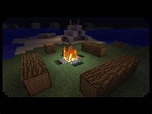 Minecraft: How to make a Decorative Tent and Campfire