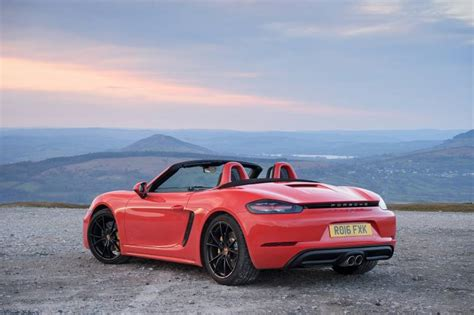 Review Porsche 718 by Porsche 718 Boxster S Review Car Review Rac Drive