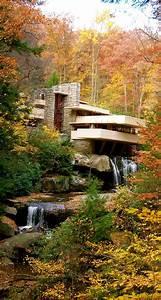 Frank Lloyd Wright Gebäude : visiting frank lloyd wright 39 s masterpiece fallingwater architektur geb ude und h uschen ~ Buech-reservation.com Haus und Dekorationen