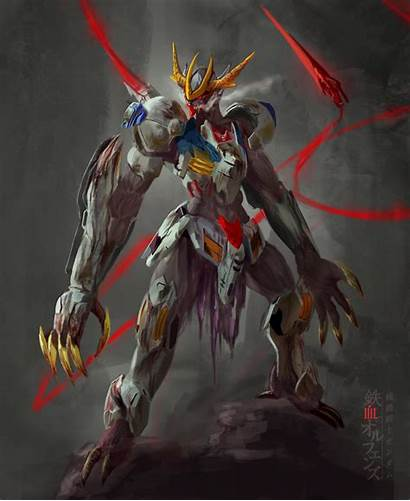 Barbatos Lupus Rex Gundam Wallpapers Deviantart Blooded