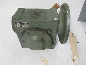 Eaton 30abf Right Angle Worm Gear Speed Reducer 92  3 Ratio