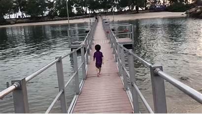 Bridge Resort Singapore Beachfront Shangri Beach Sentosa