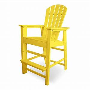 Polywood South Beach Bar Height Outdoor Chairs