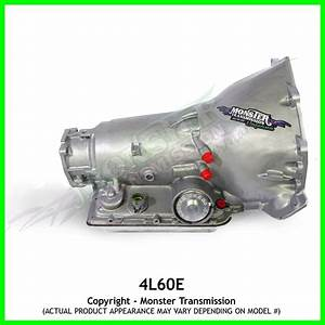 Heavy Duty 4l60e Transmission 4x4  1pc Case 4wd