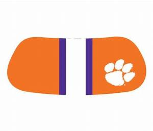 clemson colors 28 images clemson 2 color arch with paw With kitchen colors with white cabinets with university of michigan face stickers