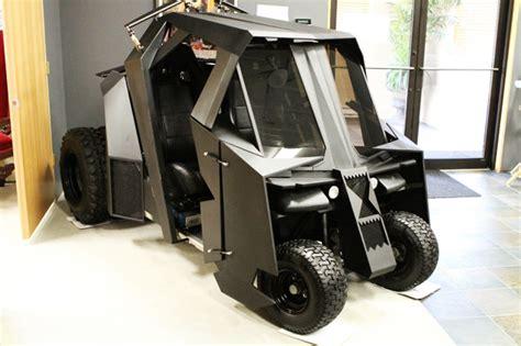 batman tumbler golf cart  epic