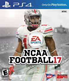 Video Game Cover NCAA Football 17