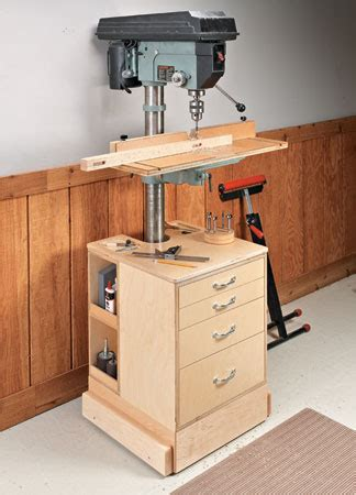 drill press plans woodsmith plans