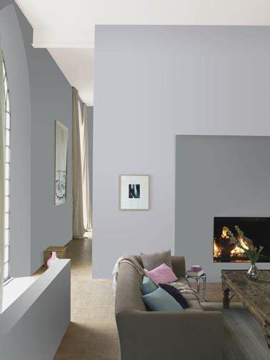 deco salon avec canape gris peinture gris souris et gris perle pour deco salon