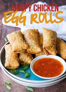 crispy chicken egg rolls recipe i wash you