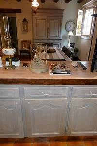 moka taupe gris patine relooke meuble patine rose le gac With exceptional meuble cuisine couleur taupe 2 peinture et patine sur meubles