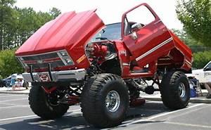 Jacked Up Chevy Trucks
