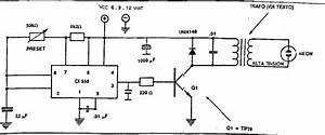 Diagramas De Electronica  Circuito Electrificador