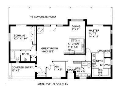 HPM Home Plans Home Plan: 001 2095 (With images) Beach