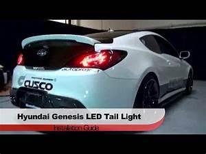 Hyundai Genesis Lights Spyder Auto Installation 2010 12 Hyundai Genesis Coupe