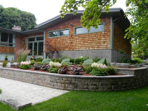 retaining wall gardens cavan hills landscaping retaining walls