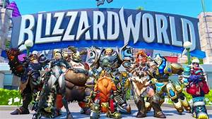 Overwatch All New Skins From The Blizzard World Update