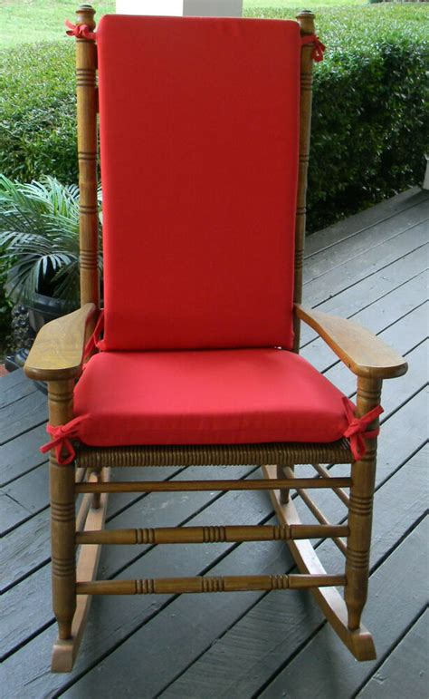 Cracker Barrel Porch Rocker by Outdoor Rocker Rocking Chair 2 Pc Cushion Pad Fits