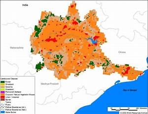Mahanadi River Map
