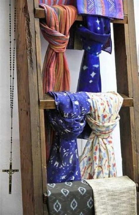 creative scarf storage display ideas hative