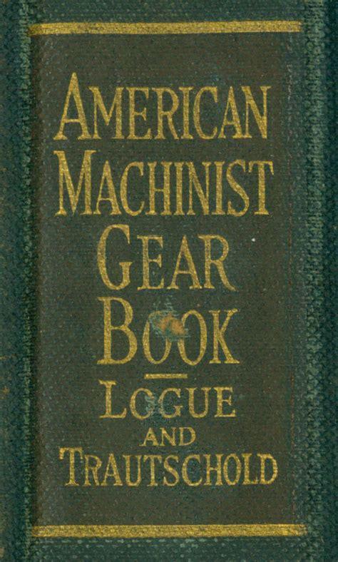 american machinist gear book