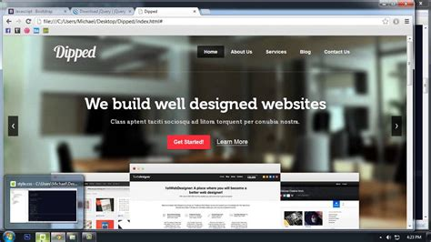 Twitter Bootstrap Tutorial Make Website Design Responsive