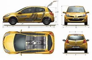 Dimensions Clio 4 : car blueprints renault clio sport r27 blueprints vector drawings clipart and pdf templates ~ Maxctalentgroup.com Avis de Voitures