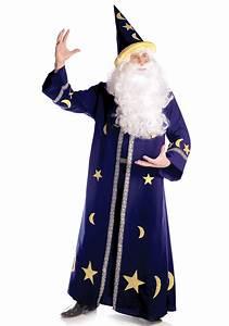Mens Magic Merlin Wizard Costume - Adult Sorcerer Costumes