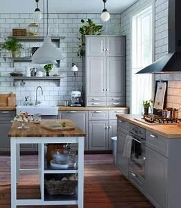 Ikea Bodbyn Grau : ber ideen zu graue k cheninsel auf pinterest graue k chen graue k chen und kochinseln ~ Markanthonyermac.com Haus und Dekorationen