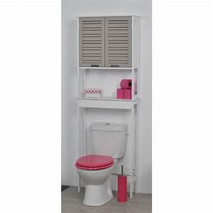 un meuble dessus wc avec une touche exotique pour vos With meuble sous vasque bois exotique 9 meuble dessus toilettes wc 2 portes et 1 tablette