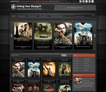 the series and movide site template johny template this theme and template for you