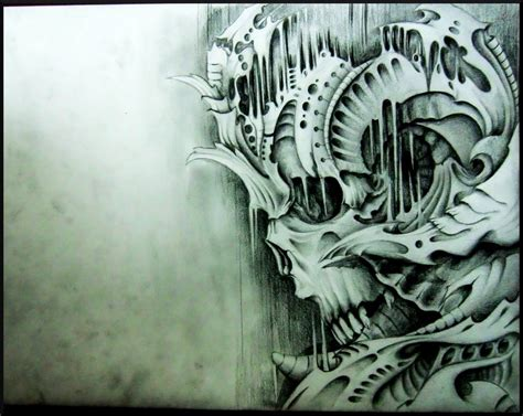 Biomechanical Hd Wallpaper