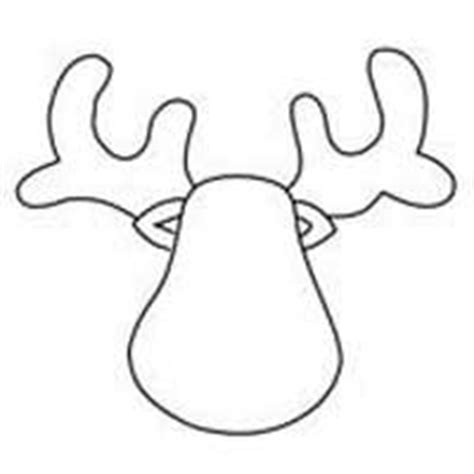 reindeer template cut out reindeer patterns for clip crafts