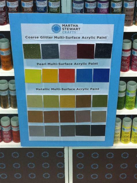a palette of martha stewart paint colors 2012 cha summer