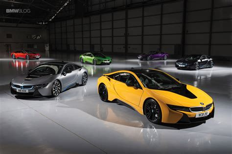 bmw offers individual colors for the i8 hybrid sportscar