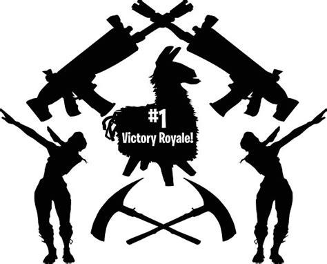 Number 1 Battle Royal Llama Fortnite Svg