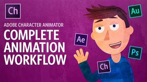 complete animation workflow adobe character animator