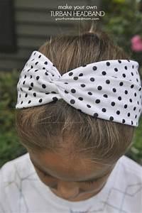 Turban Headband Tutorial and Printable}Activity Day Idea