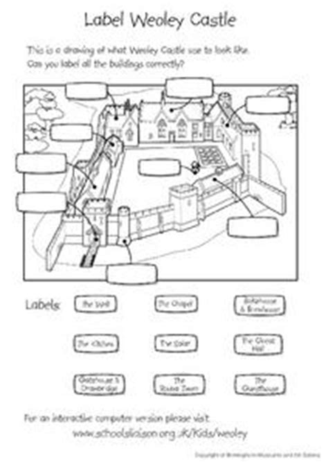 label weoley castle worksheet    grade lesson