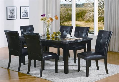black dining set  elegant house furnishing
