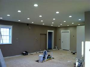 Led light design can lighting for drop ceiling
