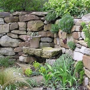 Natursteinmauern Im Garten : natursteinmauern mein sch ner garten ~ Markanthonyermac.com Haus und Dekorationen