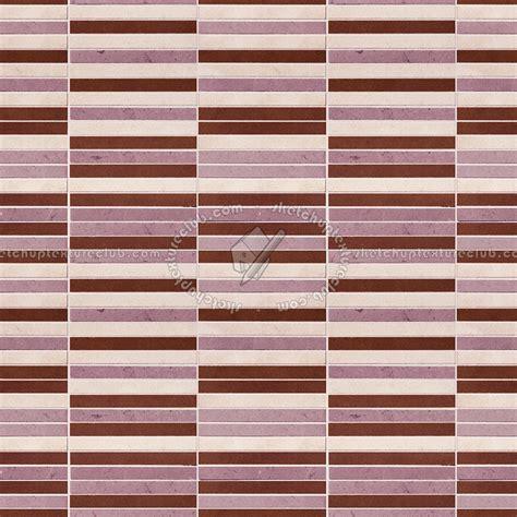 mosaic striped tiles textures seamless