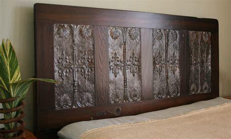 Queen Headboard Made From Old Doors Bedroom Design Ideas
