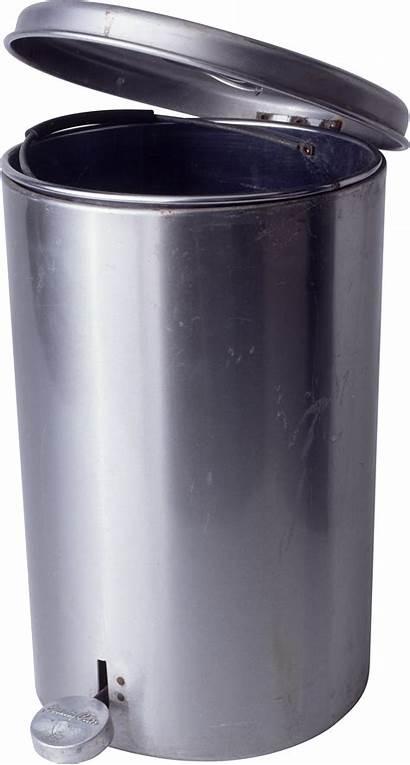 Trash Transparent Bucket Trashcan Lid Clip Metal